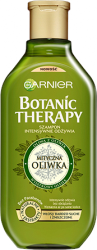 GARNIER - BOTANIC THERAPY - Intensively nourishing shampoo for very dry and damaged hair - Mythical Olive - 250 ml