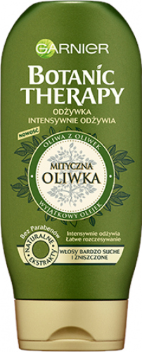 GARNIER - BOTANIC THERAPY - Intensively nourishing conditioner for very dry and damaged hair - Mythical Olive - 200 ml