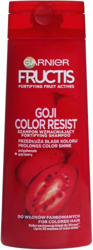 GARNIER - FRUCTIS - GOJI COLOR RESIST - Strengthening shampoo for colored hair - 250 ml