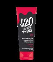 UNDER TWENTY - ANTI ACNE - Węglowa pasta oczyszczająco-detoksykująca do twarzy - 75 ml