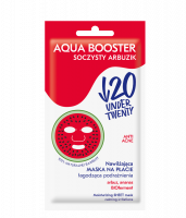 UNDER TWENTY - ANTI ACNE - AQUA BOOSTER - Moisturizing sheet face mask - Juicy Watermelon