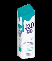 UNDER TWENTY - ANTI ACNE - Aktywna maska do twarzy z węglem i białą glinką - 50 ml