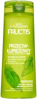 GARNIER - FRUCTIS - Wzmacniający szampon przeciwłupieżowy do włosów normalnych - 400 ml