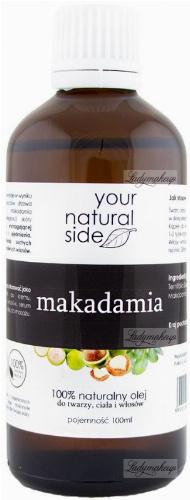 Your Natural Side - 100% naturalny olej makadamia - 100 ml