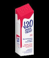 UNDER TWENTY - ANTI ACNE - Concentrated Exfoliating Serum - Skoncentrowany preparat złuszczający na trądzik, zaskórniki i przebarwienia - 30 ml