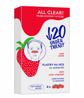 UNDER TWENTY - ALL CLEAR! - NOSE PATCHES - Nose patches for blackheads - 4 pcs