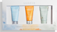 LUMENE - NORDIC MULTI MASKING SET - Set of mini face masks