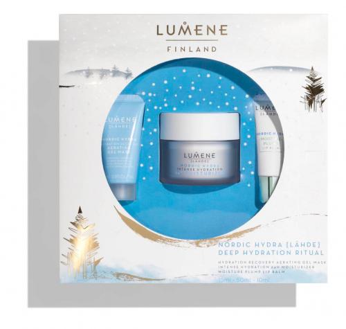 LUMENE - FINLAND - LAHDE - NORDIC HYDRA - DEEP HYDRATION RITUAL - Face cosmetics gift set