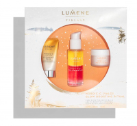 LUMENE - VALO - NORDIC C GLOW BOOSTING RITUAL - Gift set of face care cosmetics
