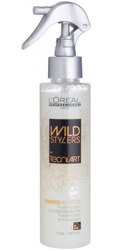 L'Oréal Professionnel - WILD STYLERS - POWDER IN LOTION - Teksturyzujący puder w spray`u do włosów - 150 ml