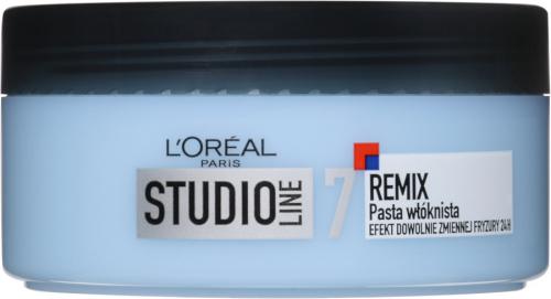 L'Oréal - STUDIO LINE 7 - REMIX - Fibrous hair modeling cream - 150 ml