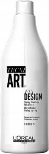 L'Oréal Professionnel - TECNI ART. - FIX DESIGN - FORCE 5 - Strongly fixing hairspray - FULFILLMENT - 1000 ml