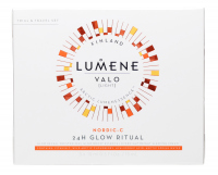 LUMENE - VALO - NORDIC C 24H GLOW RITUAL TRAVEL SET - Travel set of cosmetics for face care