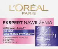 L'Oréal - EKSPERT NAWILŻENIA - Krem nawilżający na noc - 50 ml