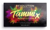 MAKEUP REVOLUTION - TAMMI X REVOLUTION - Tropical Carnival Shadow Palette - Paleta 18 cieni do powiek