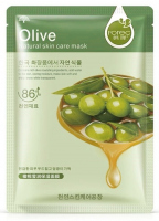 Rorec - Olive Natural Skin Care Mask - Moisturizing sheet face mask with olive oil extract