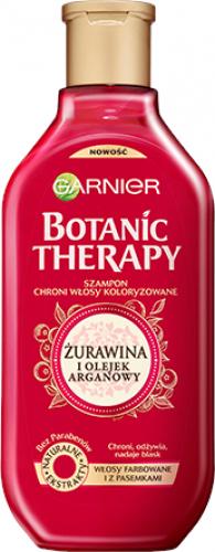 GARNIER - BOTANIC THERAPY - Ochronny szampon do włosów farbowanych i z pasemkami - Żurawina & Olejek arganowy - 250 ml