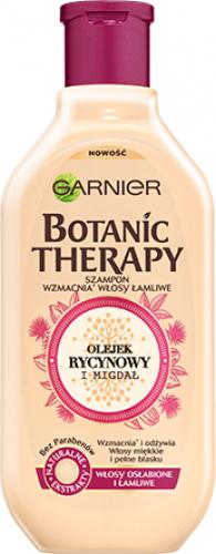 GARNIER - BOTANIC THERAPY - Strengthening shampoo for weak and brittle hair - Castor Oil & Almond - 400 ml