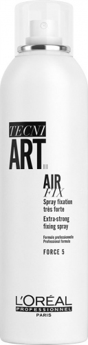 L'Oréal Professionnel - TECNI ART. - AIR FIX - FORCE 5 - Super mocny lakier do włosów - 250 ml