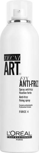 L'Oréal Professionnel - TECNI ART. - FIX ANTI-FRIZZ - FORCE 4 - Utrwalający lakier do włosów - 250 ml
