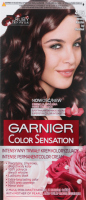 GARNIER - COLOR SENSATION - Trwały krem koloryzujący do włosów - 4.15 Mroźny Kasztan