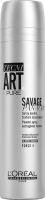L'Oréal Professionnel - TECNI ART. SAVAGE PANACHE PURE - POWDER SPRAY - FORCE 4 - Teksturyzujący puder w spray`u do włosów - 250 ml