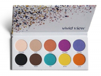 PAESE - Eyeshadow Palette - 10 eyeshadows - VIVID VIEW