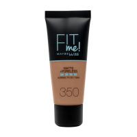 MAYBELLINE - FIT ME! Liquid Foundation For Normal To Oily Skin - Podkład matujący do twarzy - 350 CARAMEL - 350 CARAMEL