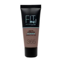 MAYBELLINE - FIT ME! Liquid Foundation For Normal To Oily Skin - 365 ESPRESSO - 365 ESPRESSO