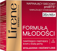 Lirene - Youth Formula - Moisturizing and tightening face cream with white pearl - 35 + / 45 + Day - 50 ml
