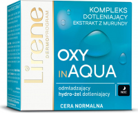Lirene - OXY in AQUA - Odmładzający hydro-żel dotleniający do cery normalnej - Noc - 50 ml