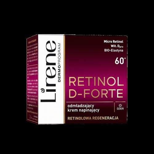 Lirene - RETINOL D-FORTE - Odmładzający krem napinający do twarzy - Dzień - 60+