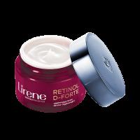 Lirene - RETINOL D-FORTE - Ujędrniający krem dermo-regenerujący do twarzy - Noc - 60+