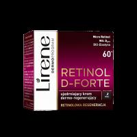 Lirene - RETINOL D-FORTE - Firming dermo-regenerating face cream - Night - 60+