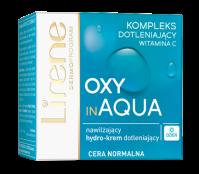 Lirene - OXY in AQUA - Moisturizing oxygenating cream for normal skin - SPF10 - 50 ml