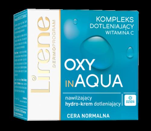 Lirene - OXY in AQUA - Nawilżający krem dotleniający do cery normalnej - SPF10 - 50 ml