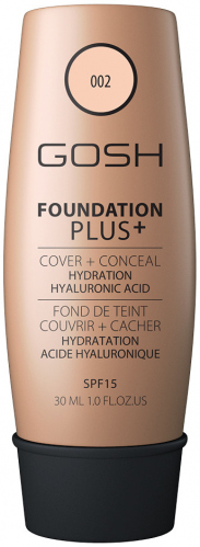 GOSH - FOUNDATION PLUS + - COVER + CONCEAL - 2in1
