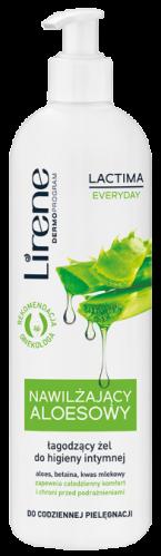 Lirene - Lactima Everyday - Nawilżający aloesowy, łagodzący żel do higieny intymnej - 350 ml