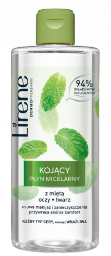 Lirene - Soothing micellar fluid with mint - 400 ml