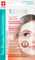 EVELINE - FACE THERAPY PROFESSIONAL SOS - Warming cleansing mask for the face, neck and cleavage