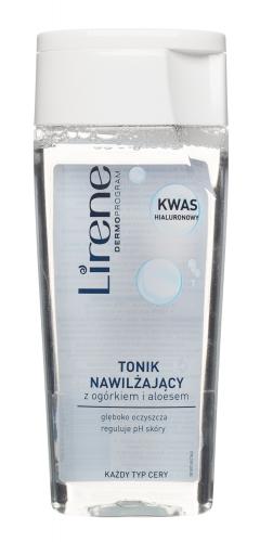 Lirene - Moisturizing toner with cucumber and aloe - 200 ml