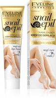 Eveline Cosmetics - Snail Epil - Nawilżający krem do depilacji nóg i rąk z śluzem ślimaka - Skóra sucha i wrażliwa - 125 ml