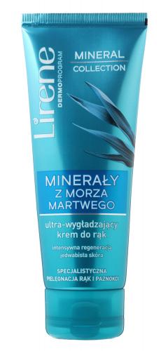 Lirene - Mineral Collection - Ultra-wygładzający krem do rąk i paznokci - Minerały z Morza Martwego - 75 ml
