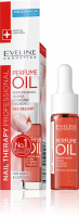 EVELINE - PERFUME OIL - Perfumed cuticle and nail oil - RED DELIGHT