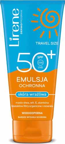 Lirene - EMULSJA OCHRONNA do skóry wrażliwej - SPF50+ - 150 ml