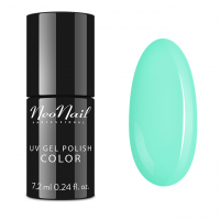 NeoNail - UV GEL POLISH COLOR - CANDY GIRL - Lakier hybrydowy - 6 ml I 7,2 ml - 3754-7 - SUMMER MINT - 3754-7 - SUMMER MINT