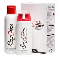 Easy Tattoo - Tattoo care kit - Cream 100 ml + Cleaning gel 125 ml