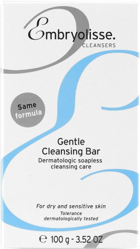 EMBRYOLISSE - Gentle Cleansing Bar - Dermatologic cleansing soapless formula - 100g