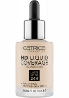 Catrice - HD LIQUID COVERAGE FOUNDATION - 002 - PORCELAIN - 002 - PORCELAIN