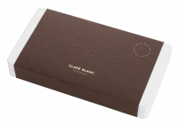 CLARÉ BLANC - MINERAL BASED EYESHADOW PALETTE - 8 mineral eye shadows - WEDDING
